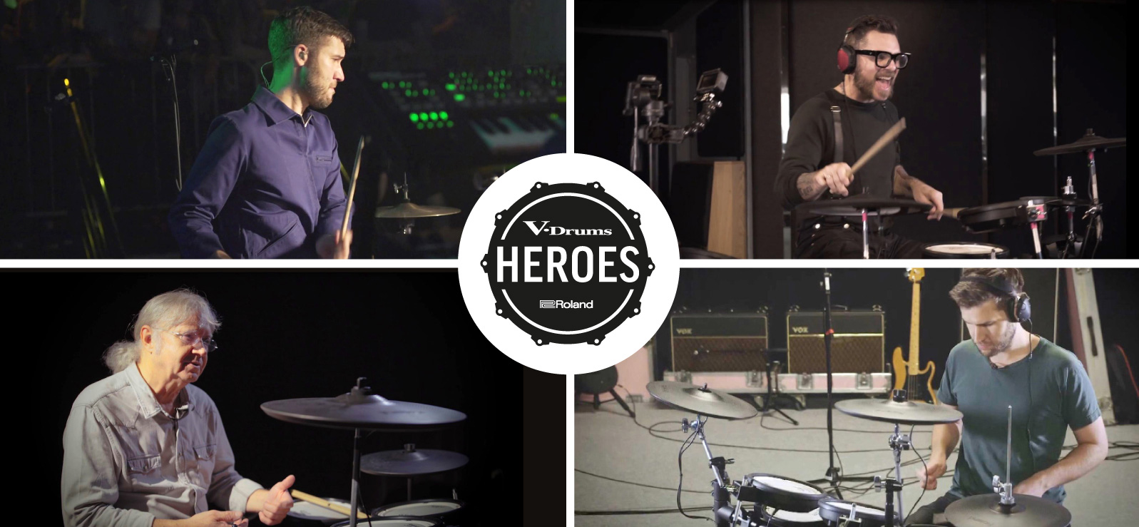 Roland V-Drums Heroes Competition