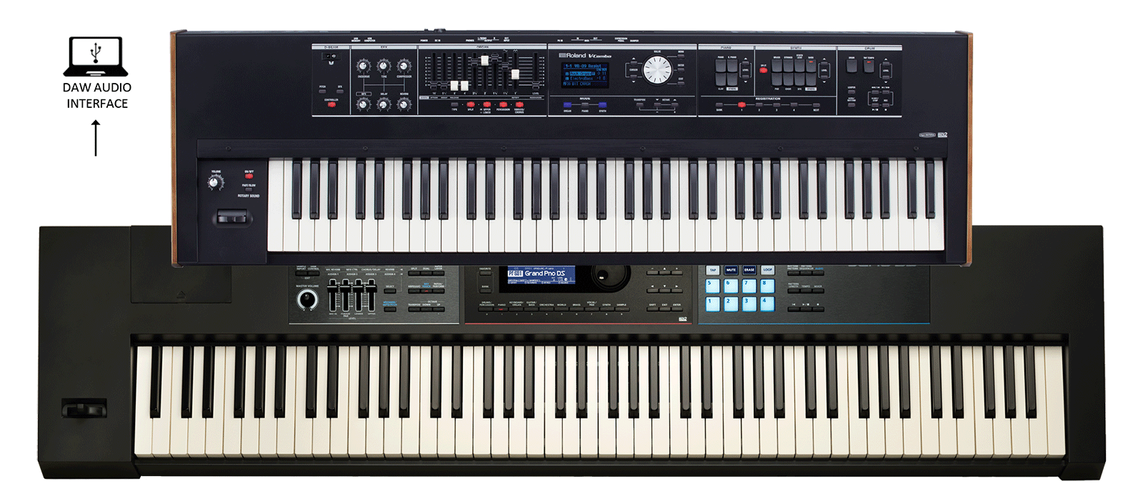 VR-730 & JUNO-DS88 Keyboards