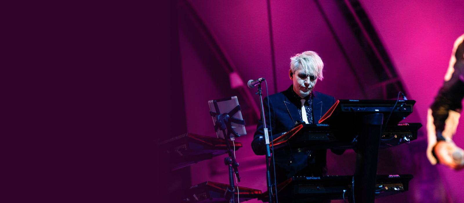 Nick Rhodes Synth Rig
