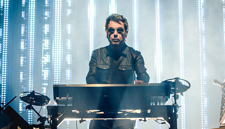 Jean-Michel Jarre Keyboard Rig