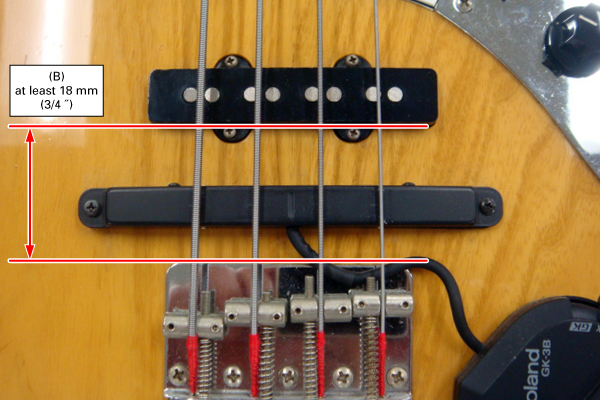 GK-3B Dimensions and Requirements :: How to install the GK pickup ...